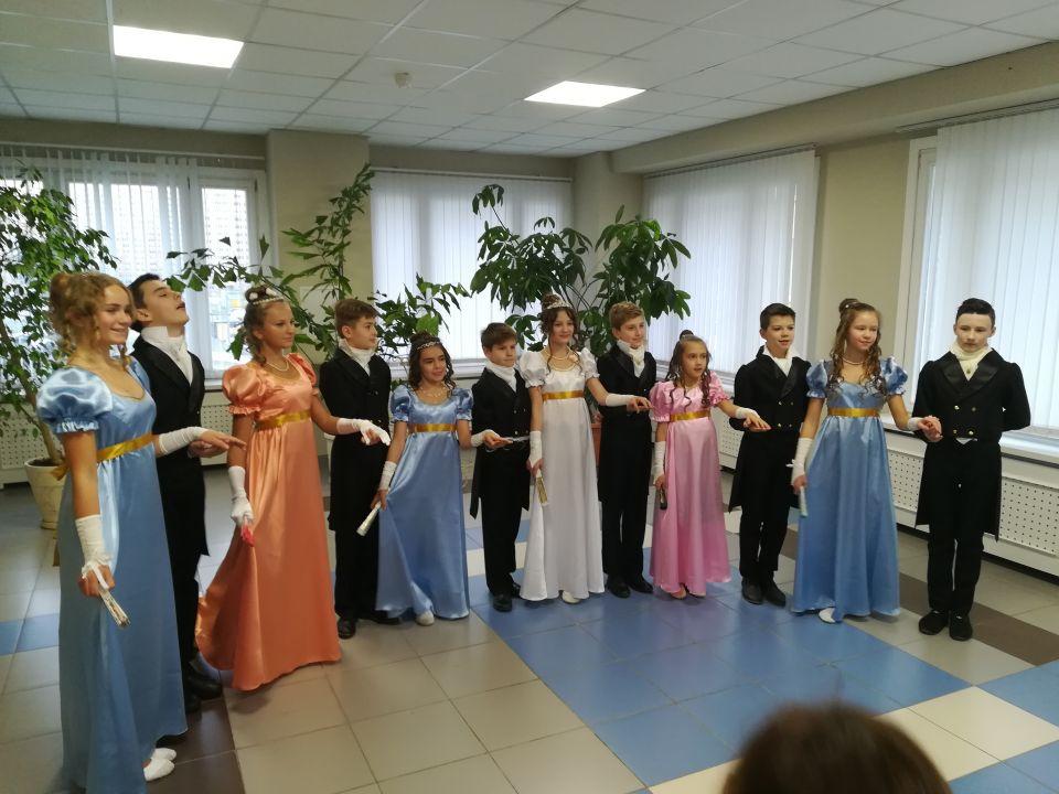 Участники концерта посвящённого Дню гимназии 21.11.2017г.